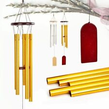 New listing Hot Large Aluminium Metal Wind Chimes Home Garden Yard House Church Bells Decor