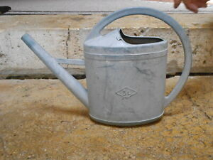 FRENCH Vintage  WATERING CAN 3 L marked EDA   FRANCE