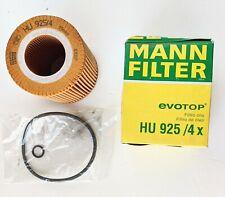 MANN Origina HU 925/4 x Engine Oil Filter Kit For BMW E46 E53 Z3 Z4 3 & 5 Series