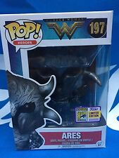 Ares Funko Pop! #197 SDCC 2017 Comic Con Exclusive Wonder Woman - Brand New