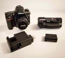 Nikon D750 with 50mm 1.8 lens Meke Battery Grip