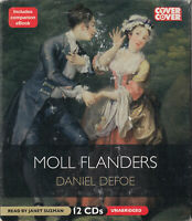 Moll Flanders Daniel Defoe 12CD Audio Book Unabridged Janet Suzman FASTPOST