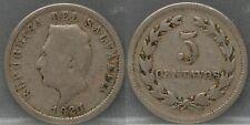El Salvador - 5 centavos 1921