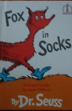Fox in Socks by Dr. Seuss (Harcover 1965)
