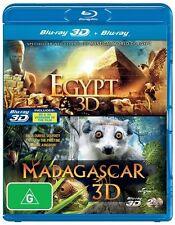 Egypt / Madagascar (3D) (Limited) NEW B Region Blu Ray