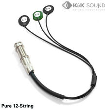 K&k PURE 12-String Acoustic Guitar Pickup ** ENVOI GRATUIT/en stock **