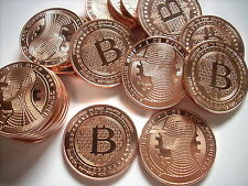 10-1 OZ COPPER COINS BITCOIN *THE GUARDIAN* ANONYMOUS MINT COPPER COINS 1-20