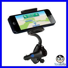 SCOSCHE Powermount car charger, 12 volt pass through dual USB, iPhone/Smartphone