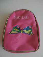 """Pottery Barn Kids Pink Eric Carle Butterfly Preschool Backpack """"Mary Kate"""" New"""