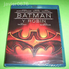 BATMAN Y ROBIN BLU-RAY NUEVO Y PRECINTADO