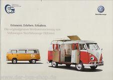 VW Bus-Prospekt-VW VEICOLI COMMERCIALI Oldtimer - 2012