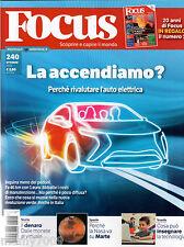 FOCUS=N°240 10/2012=l'auto elettrica=il denaro dalle monete al virtuale=Marte