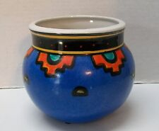 Planter or Vase with Sun Markings Southwestern Style Handcrafted