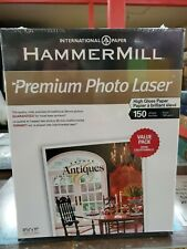 Hammermill Premium Photo Laser High Gloss Paper 150 Sheets
