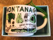 2018 Starbucks Mini Espresso Mug MT Montana Been There Series 2oz Ornament