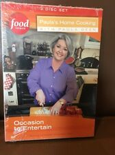 FOOD NETWORK PAULA DEAN OCCASION TO ENTERTAIN (DVD, 2005) New Free Shipping!