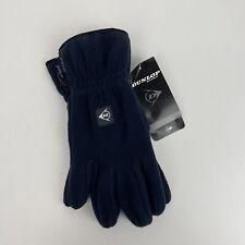 Dunlop Sport Fleece Gloves Navy Size Small / Medium