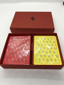 Genuine Ferrari playing cards made in Italy
