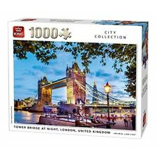King 5740 Tower Bridge London Jigsaw Puzzle 1000-piece 68 X 49 Cm