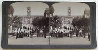 Roma Davanti Il Capitol Italia Fotografia Stereo Vintage Citrato