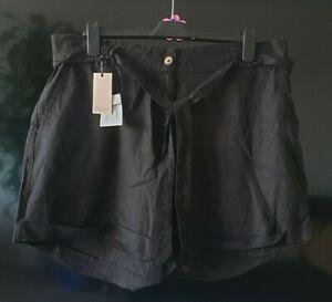 Capsule Linen Blend Ladies Shorts Size 20 Plus Size BNWT