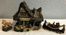 Boyds Bearly-Built Villages Jeb'S General Store & Blacksmithy & 2 Characters