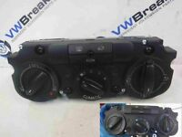 Volkswagen Golf MK5 2003-2009 Heater Controls Switches Panel Climatic