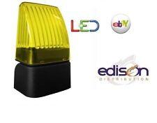 LAMPEGGIANTE SNODABILE A LED PER AUTOMAZIONE 12V 24V 230V  CON ANTENNA INCLUSA
