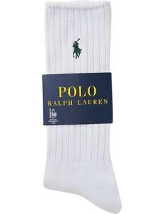 POLO RALPH LAUREN - EARTH CREW SOCKS - 100% AUTHENTIC