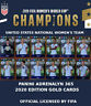 USA NATIONAL WOMEN'S TEAM -  GOLD CARDS 2020 - WORLD CUP FRANCE 2019 - ADRENALYN