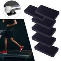 4x Treadmill Mat Black Red