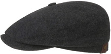 STETSON Bakerboy Cap Hat Hatteras Wool Cashmere 32 Anthracite New Trend