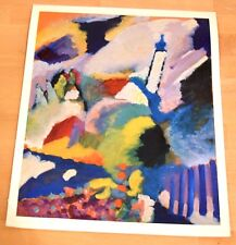 WASSILY KANDINSKY Kirche bei Murnau Poster Kunstdruck Art Print 1989 60 x 48 cm
