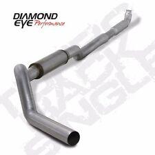 """Diamond Eye 5"""" ALUM - """"QT"""" DOWN PIPE BACK SINGLE CHEVY GMC 6.6L 01-07 # K5117A"""