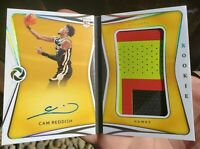 2019-20 Panini Opulence Rookie PATCH AUTO Booklet RPA Cam Reddish /99