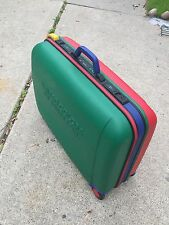 VINTAGE UNITED COLORS OF BENETTON SUITCASE LUGGAGE