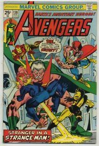 Avengers 138 Stranger in a Strange Man!