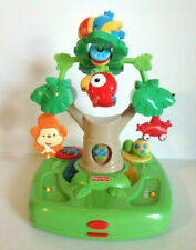 Fisher Price Rainforest High Chair Toy Replacement TESTED Works /LN