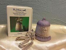 1992 Christmas Bell By Mj Hummel Goebel Christmas Bell In Original Box