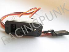 RC Receiver Servo Large LED standard & micro servo Switch JR type Lead Plug