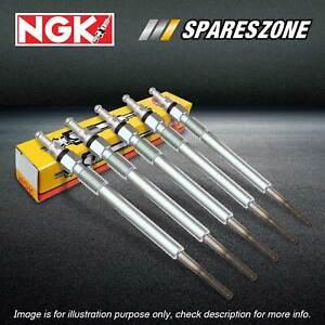 5 NGK Glow Plugs for Volvo C30 S40 S60 S80 V50 V60 XC60 XC70 BZ XC90 D5 Diesel