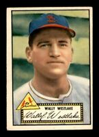 1952 Topps Set Break # 38 Wally Westlake VG (Crease) *OBGcards*