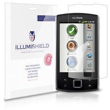 iLLumiShield Anti-Bubble/Print Screen Protector 3x for Garmin-ASUS Nuvifone A50