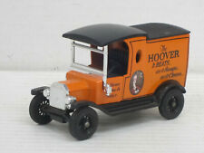 "Ford Model T Van Kastenwagen ""Hoover"", schwarz/orange, ohne OVP, Matchbox, 1:43"