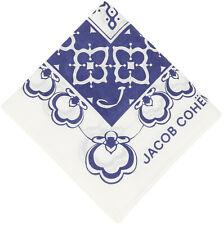 Jacob Cohen Men's Logo Dot Loop Pattern Bandana Handkerchief