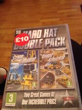 Hard Hat Double Pack (Crane & Digger) Simulator Game PC New And Sealed