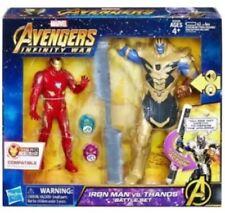 Marvel Avengers Infinity War Iron Man vs Thanos Battle Set Popular New Kids Toys