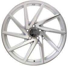 20x8.5 F1R F29 5x114.3 +17 Machine Silver Wheels (Set of 4)