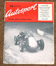 Autosport 26/1/51 Vol 2 No4 - BENTLEY v MERC in the 1930 LE MANS 24 HOURS STORY