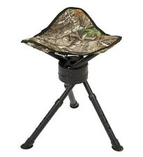 Ameristep AMEFT1011 Mossy Oak BreakUp Camo Hunting Game Tripod Swivel Stool
